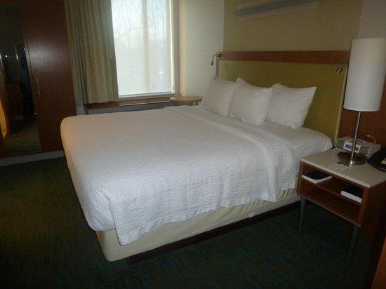 SpringHill Suites Philadelphia Langhorne: Bed