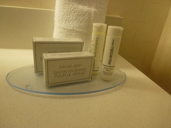 SpringHill Suites Philadelphia Langhorne: Paul Mitchell shampoo and conditioner