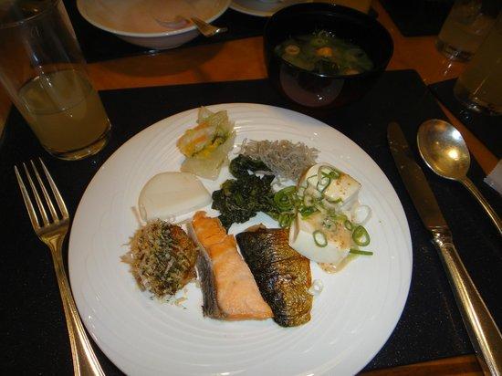 Checker's: Some items on Japanese breakfast menu