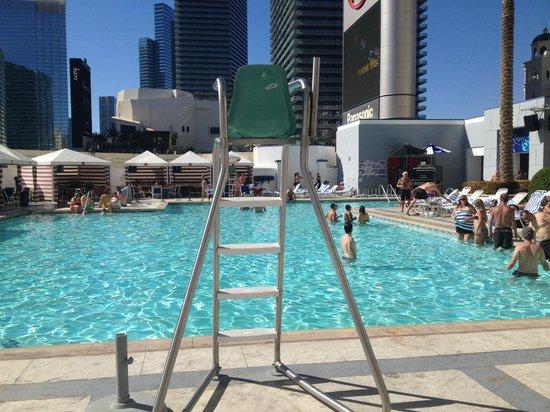 Pool Area Picture Of Planet Hollywood Resort Casino Las Vegas Tripadvisor