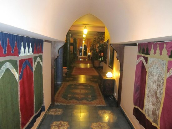 Villa Mandarine : Corredor interno.