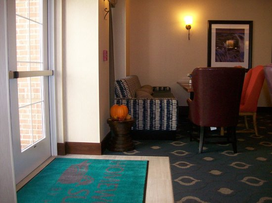 Homewood Suites Somerset : The back of the Breakfast Area.