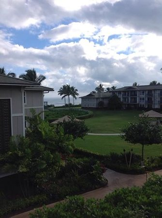 Westin Princeville Ocean Resort Villas : view from room 5219