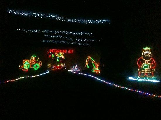 Louisville Mega Cavern: Lights Under the City