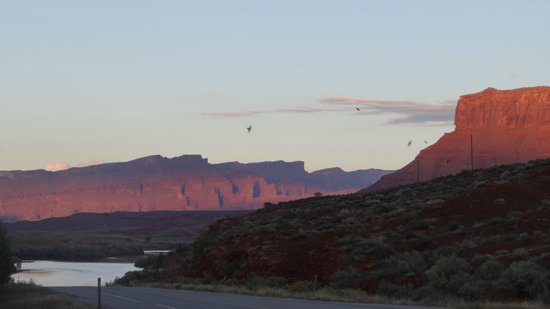 Red Cliffs Lodge : View from the restaurant