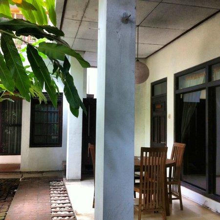 Tiga Lima Homestay : View from KOMODO ROOM