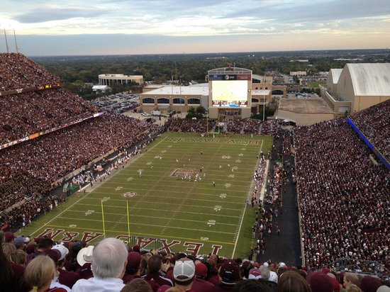 Kyle Field: Aggie game