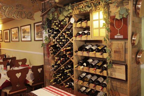 Steak House Chez Ernest : La Cave