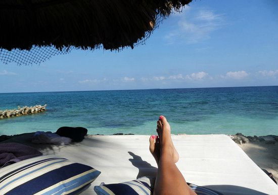 Hotel San Pedro de Majagua: desde la playa