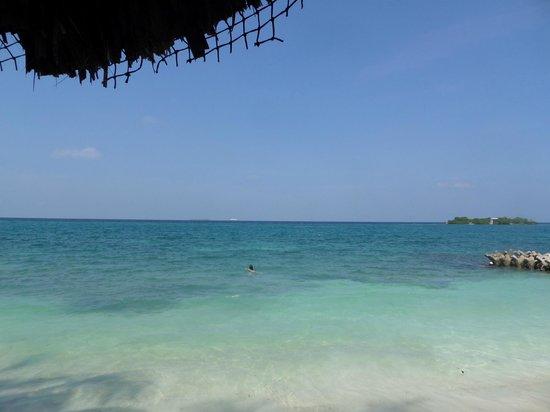 Hotel San Pedro de Majagua: vista desde la playa