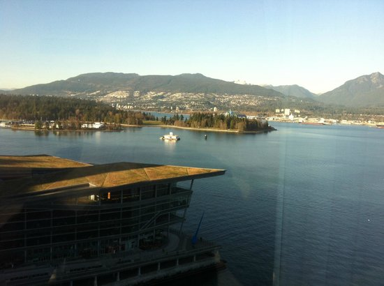 Pan Pacific Vancouver: View from our room