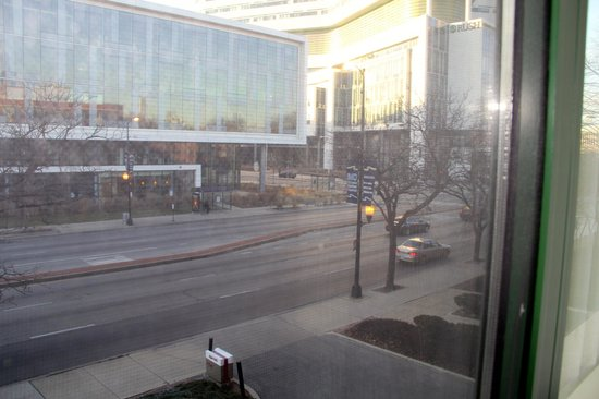 Chicago Marriott at Medical District/UIC: View from 2nd floor window