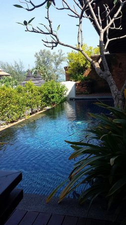 Royal Muang Samui Villas : Our private pool