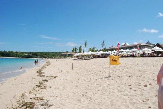 Nusa Dua Beach: Пляж Нуса Дуа