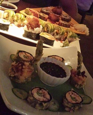 Ambrosia: Our Sushi Rolls