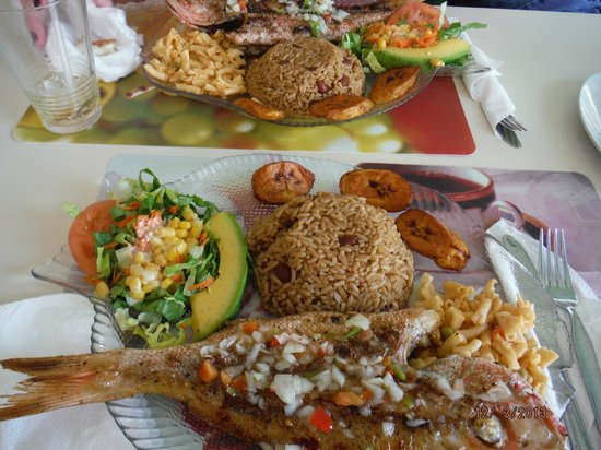 Scooby's : Delicious Grilled Snapper