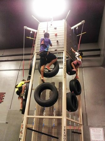 Jefferson, Teksas: Vertical Obstacle COurse