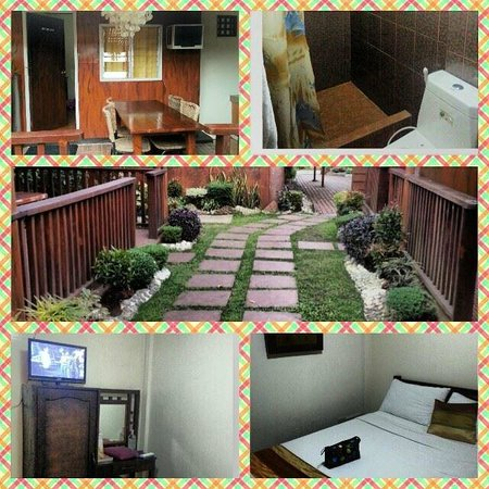 Bali Village Hotel Resort and Kubo Spa: Interior and exterior of our room