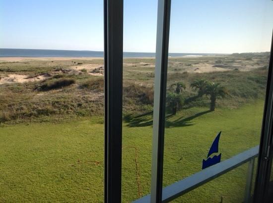 Las Dunas Hotel: otro angulo de la vista al mar