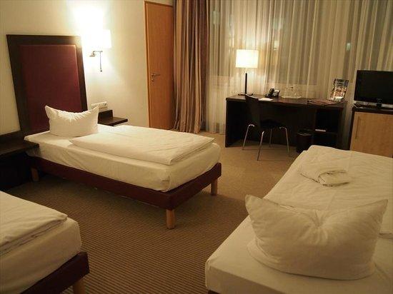 AZIMUT Hotel Munich: ベッドルーム