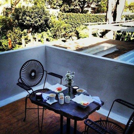 Casa Fernanda Hotel Boutique: Terraza - Habitación 2