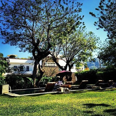 Casa Fernanda Hotel Boutique: Desde el jardín