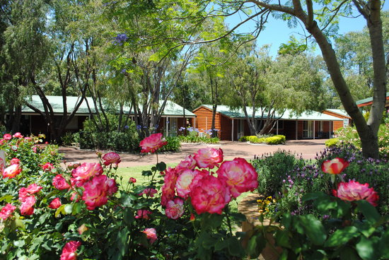 Margaret River Tourist Park: Beautifully landscaped Cottages