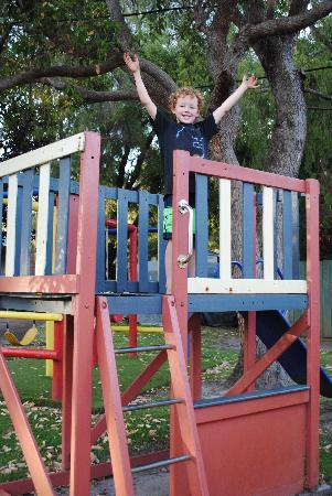 Margaret River Tourist Park: Playground, soon to be upgraded