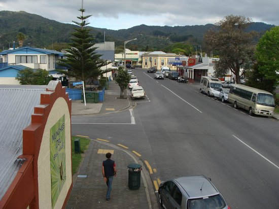 Anchor Lodge Coromandel: Part of the main street