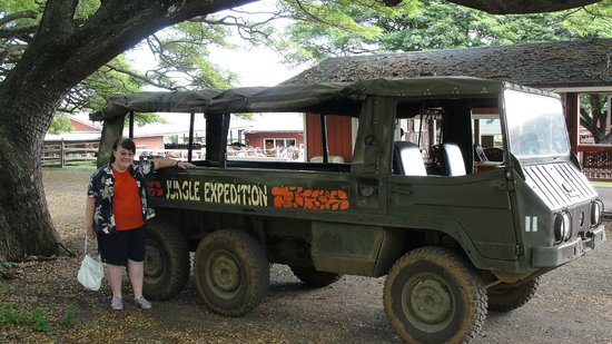 Kualoa: Jungle Jeep holds about 10.