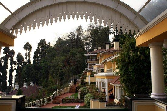 Mayfair Darjeeling : View from Terrace