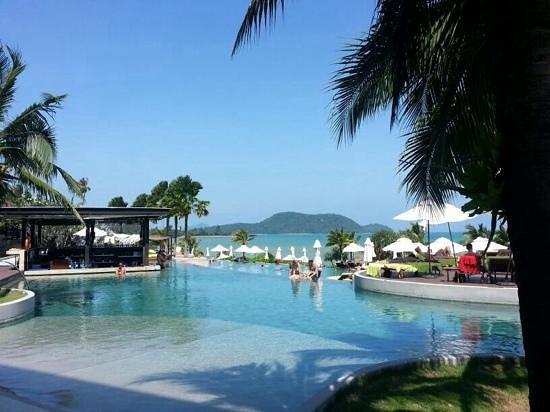 Pullman Phuket Panwa Beach Resort: pool area - excellent views