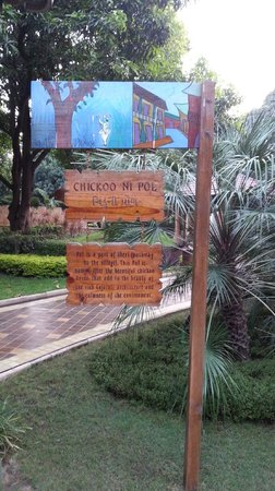 Madhubhan Resort & Spa : Information on wood