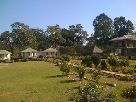 Bhalukpong Tourist Lodge: view from our cottage