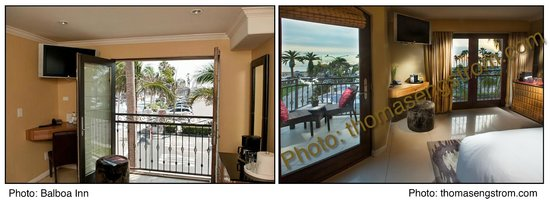 Balboa Inn: The picture to the right is of room 331.