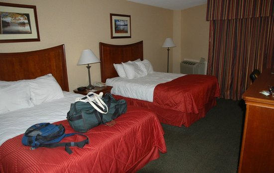 Clarion Inn & Suites : My room