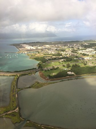 Blue Hawaiian Helicopter Tours - Oahu: a great view