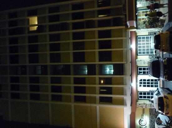 Hotel California: su fachada