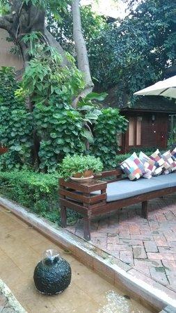 Oasis Spa Lanna : garden
