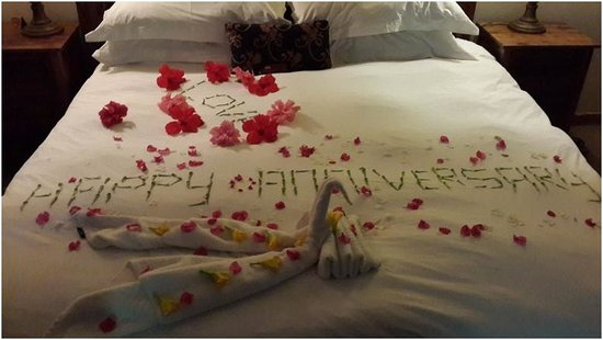 Shangri-La Country Hotel & Spa : our romantic anniversary message