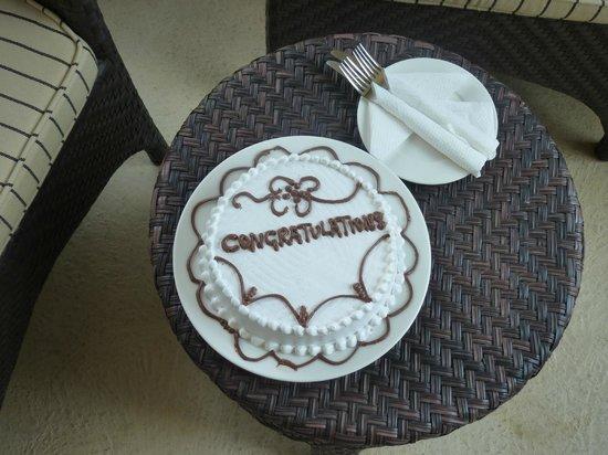 Swahili Beach Resort: honeymoon present
