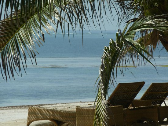 Swahili Beach Resort: beach view