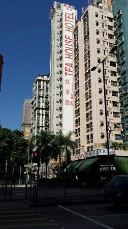 Bridal Tea House Hotel Hung Hom - Winslow Street: you cant miss it if lost