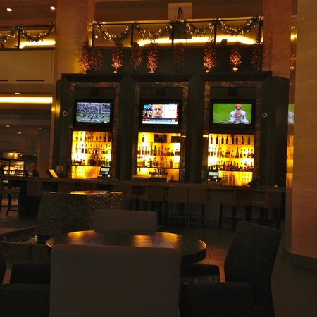 Hilton Anaheim : lobby bar