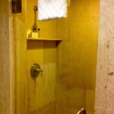 Hilton Anaheim : Presidential suite shower