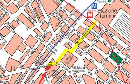Mia Lodge B&B & Hostel : map