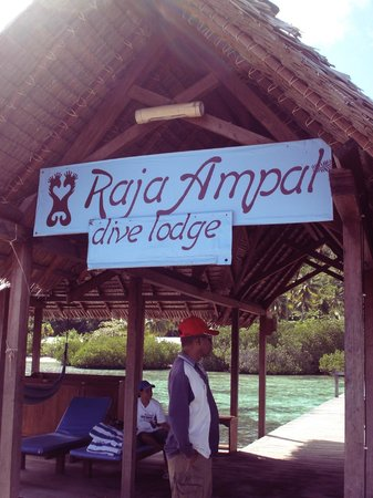 Raja Ampat Dive Lodge: main gate