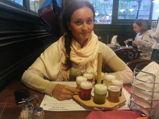 Hilton Prague: Дегустация пива