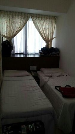 Bridal Tea House Hotel Hung Hom - Winslow Street: small rooms but very clean and comfortable