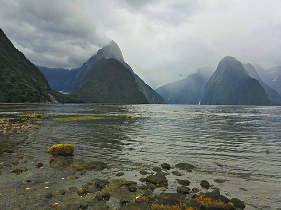 Ultimate Hikes Guided Walks: The goal at the end of the Milford track.  The beautiful Milford Sound